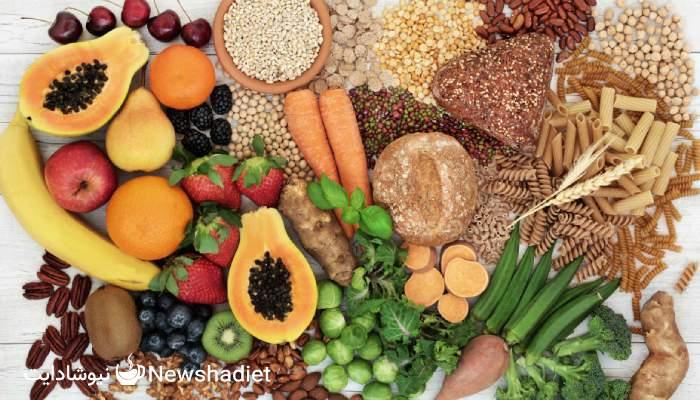 مصرف فیبر - مواد غذایی فیبردار - چربی سوزی - کاهش وزن